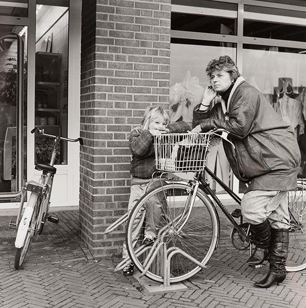 Twee bewoners van Almere uit 1988