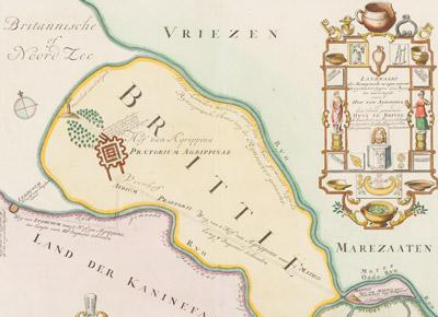 Reproducera antika kartor och gravyrer