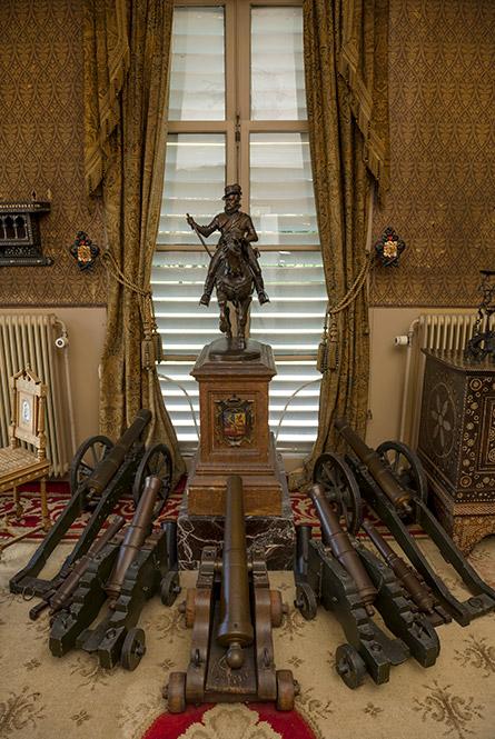 De speelgoed-kanonnen van Willem II
