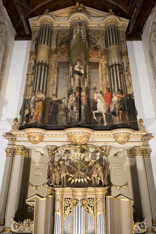 Orgelluiken Caesar van Everdingen