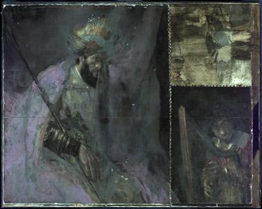 UV-foto's bij restauratie schilderijen