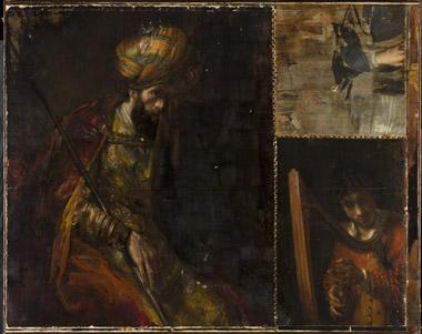 Saul en David van Rembrandt gefotografeerd voor restauratie