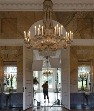 Interieurfoto's in Paleis Soestdijk door Margareta Svensson