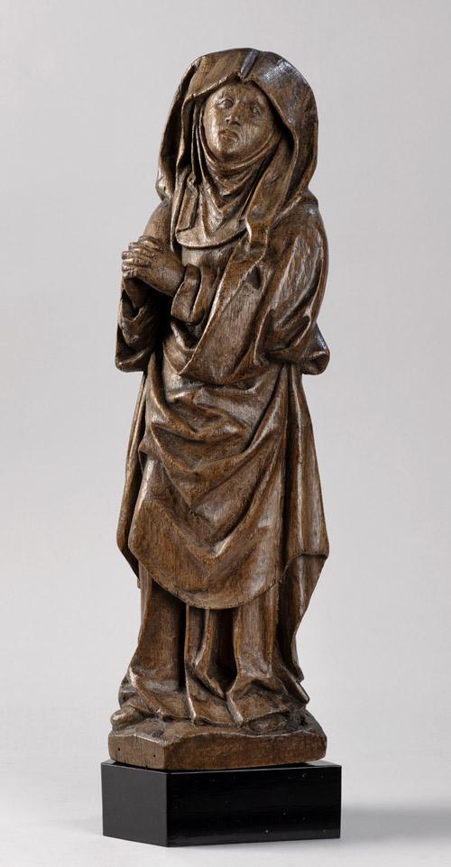 Sculptuur van hout gefotografeerd door Margareta Svensson